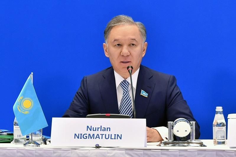 Н.Нығматулин: Ауқымды парламенттік форум Елбасының еуразиялық идеясының 25 жылдығына арналады