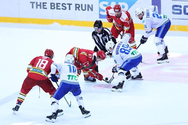 大陆冰球联盟:雪豹队客场战胜北京昆仑鸿星队