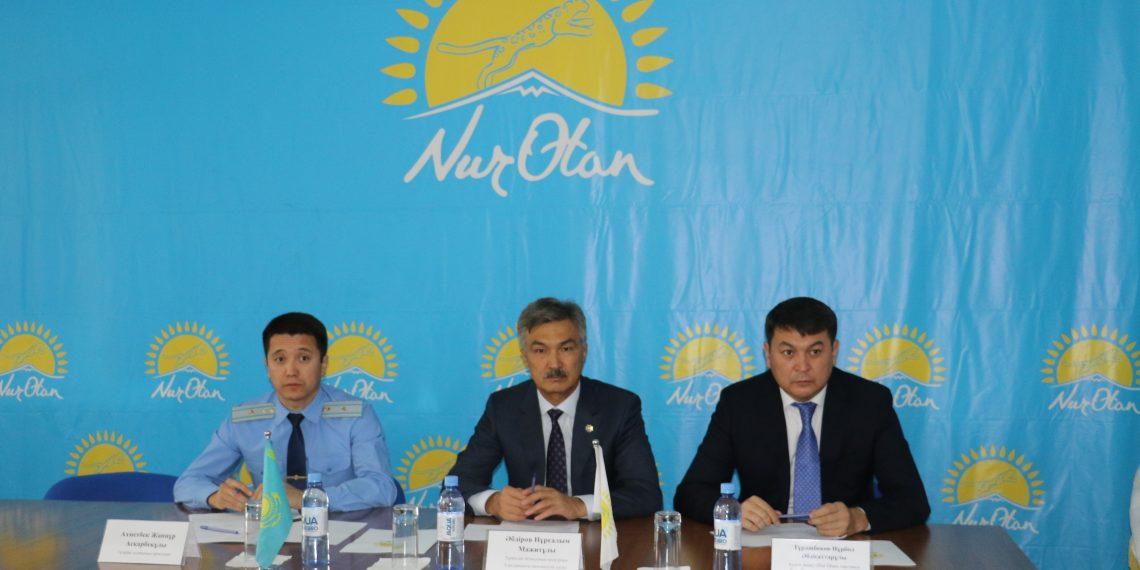 Түркістан облысының прокуроры ауыл тұрғындарымен кездесті