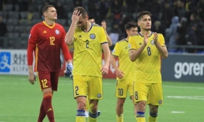Сборная Казахстана из-за гола на 90-ой минуте проиграла России в матче отбора ЕВРО-2020
