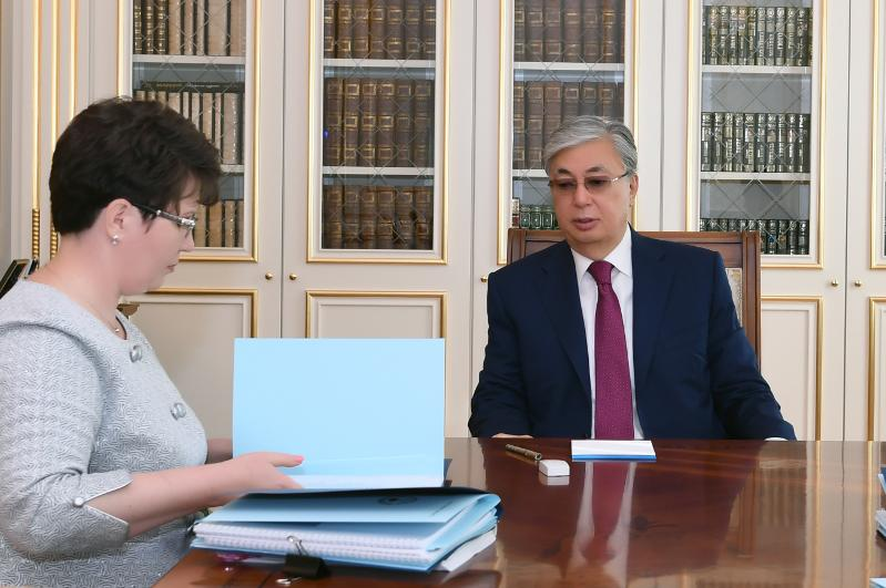 Президент РК принял председателя Счетного комитета