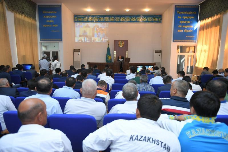Жителям Туркестанской области разъяснили Послание Президента РК