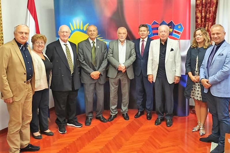 Послание Президента РК обсудили в Хорватии