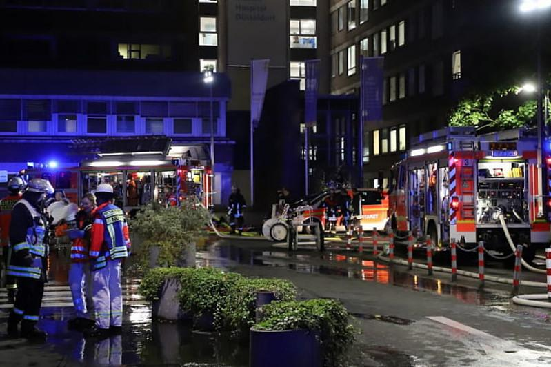 Image result for German hospital fire leaves one dead and 19 injured