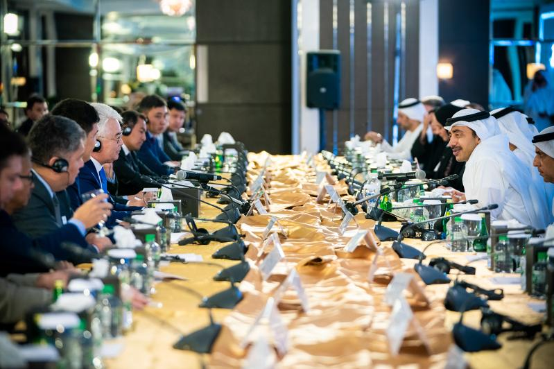 Abdullah bin Zayed chairs 'UAE-Kazakhstan Joint Committee'