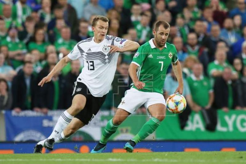 Germany beat N. Ireland to grab lead in Euro qualifying group