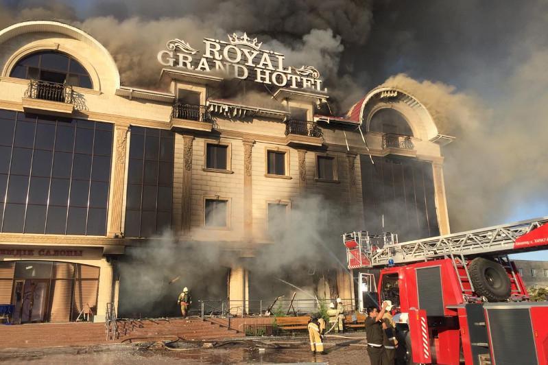 Взрыв произошел в Туркестане