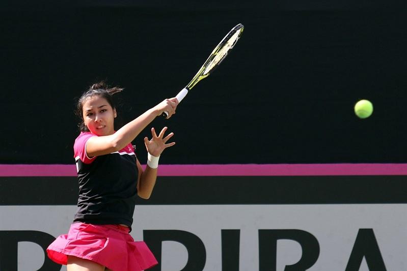 Теннис: Зарина Дияс Хиросима турнирінің ширек финалына шыға алмады