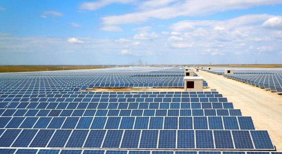 楚城地区正建造大型太阳能发电站