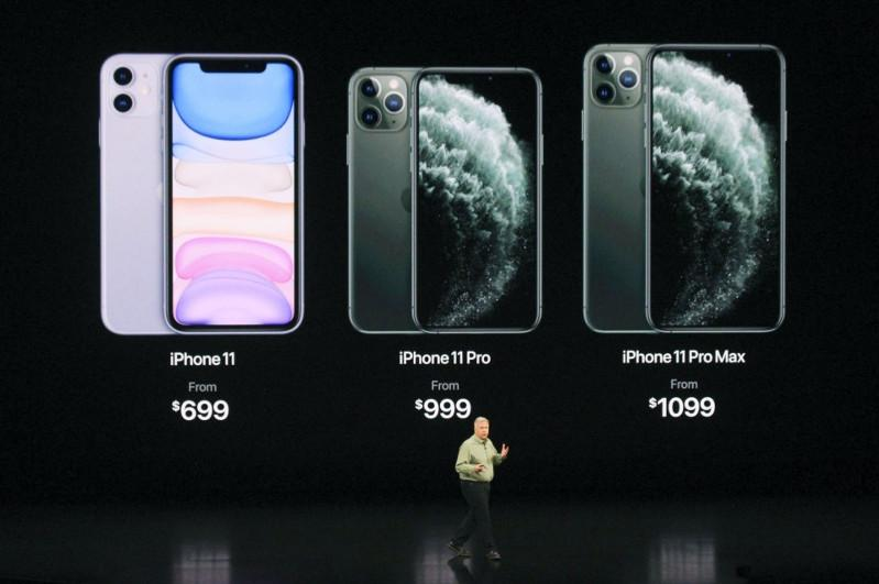 Apple unveils new iPhone lineup, highlights services