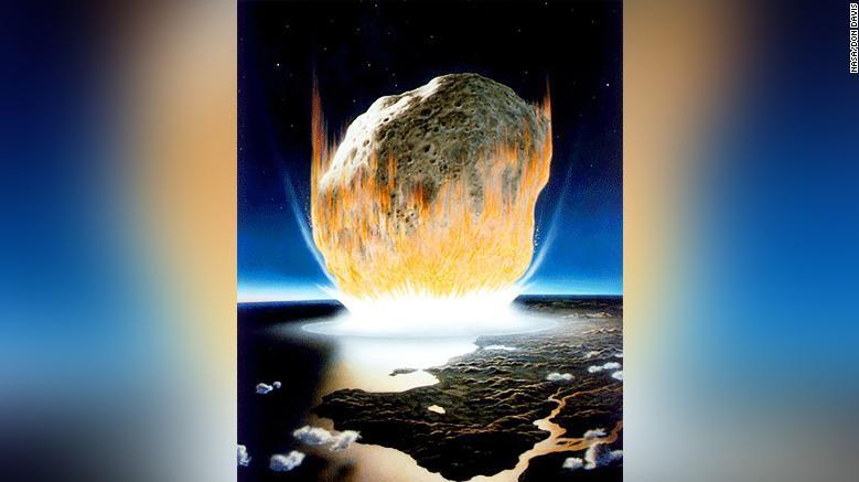 Динозаврлардың көзін жойған астероид анықталды
