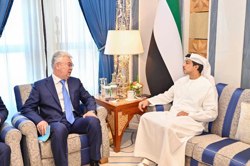 UAE President receives message from President of Kazakhstan