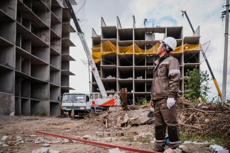 Елордадағы «Территория комфорта-1» тұрғын үйі бұзылып жатыр