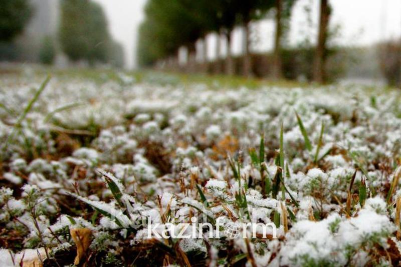 Ground frost to grip Kazakh capital