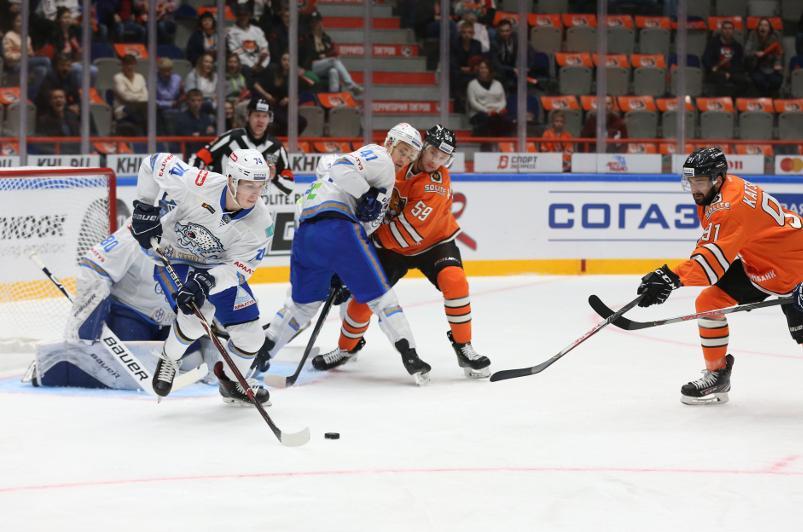 «Барыс» в Хабаровске обыграл «Амур» в матче КХЛ