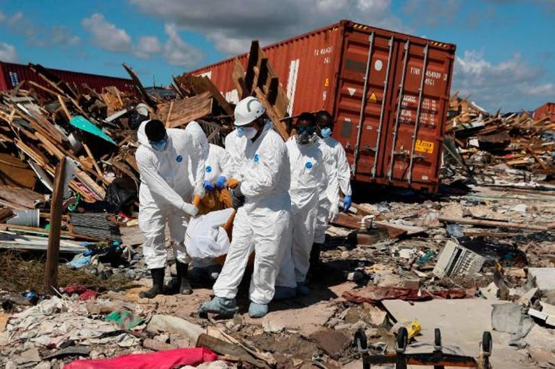 """飓风""""多里安""""致巴哈马至少50人死亡"""