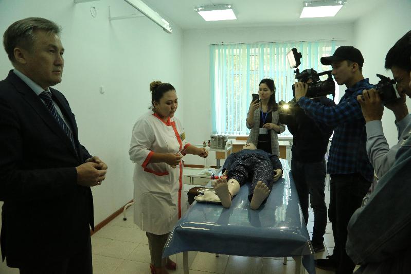 Более ста объектов здравоохранения введено в Жамбылской области за два года