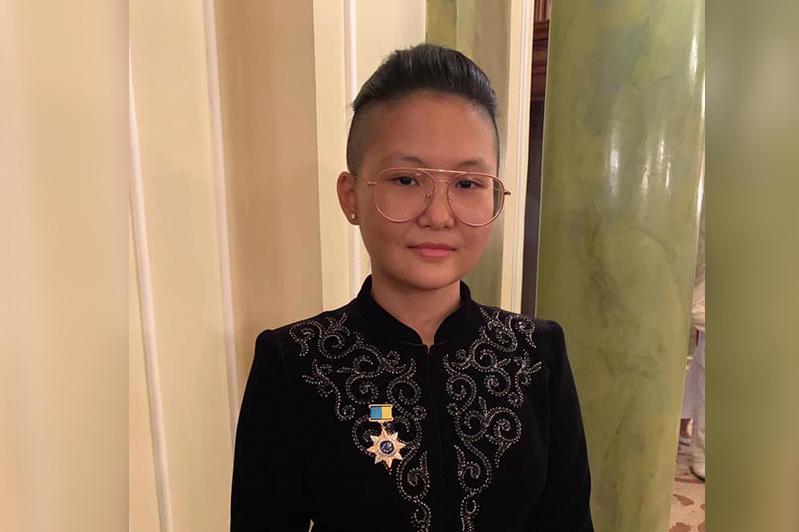 Bibisara Assaubayeva receives Golden Mongoose sports prize