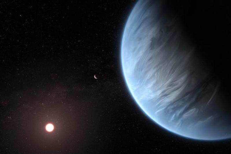 科学家在太阳系外的一颗行星上发现水蒸气