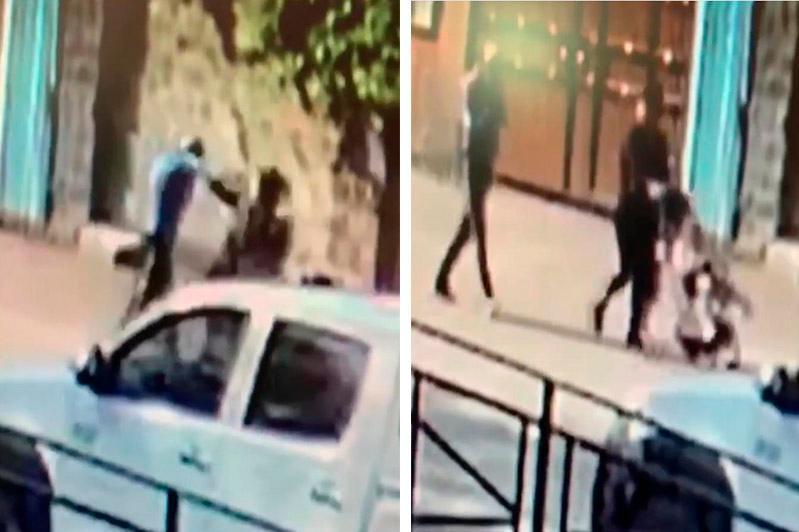 На женщину с ребенком напали в Алматы