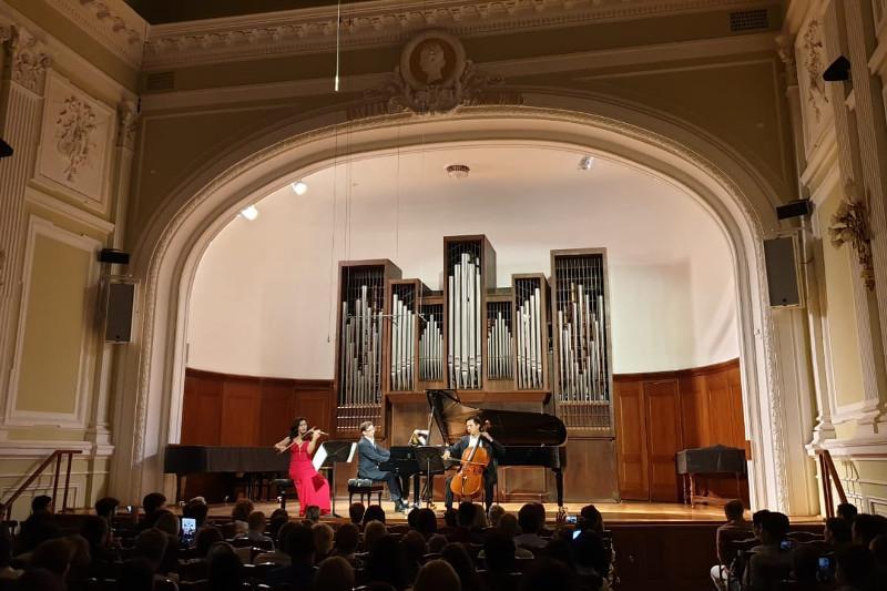 Казахстанские музыканты концертом завершили Дни культуры Казахстана в России