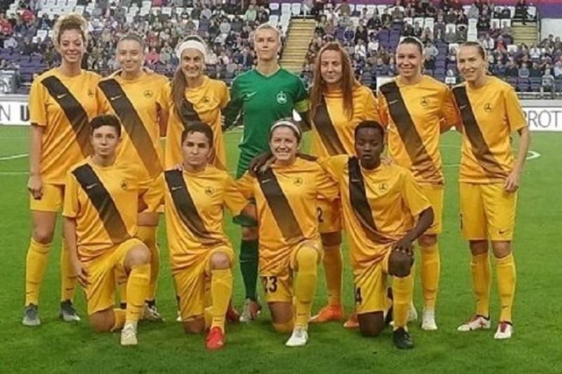 Казахстанский клуб сыграл вничью с «Андерлехтом» в женской Лиге Чемпионов