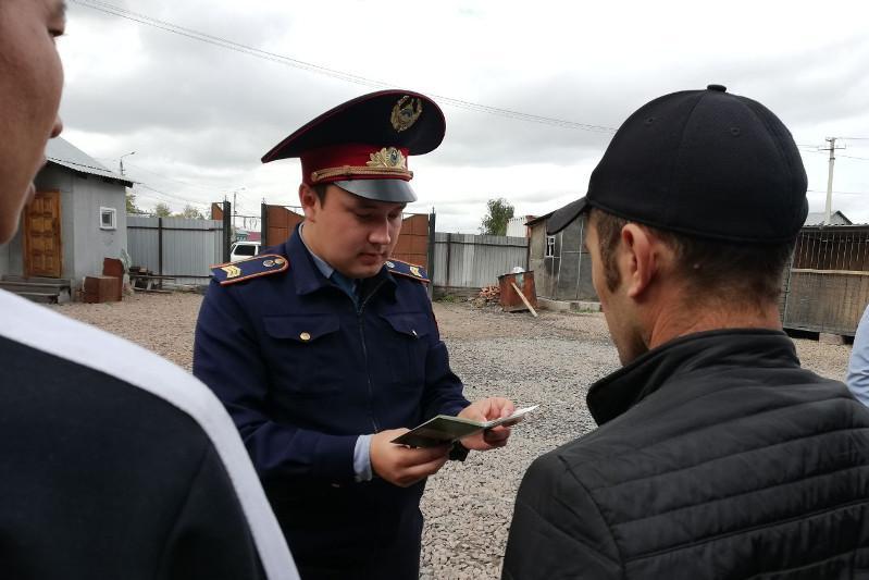 Иностранец-нелегал пешком пересек границу в Северо-Казахстанской области