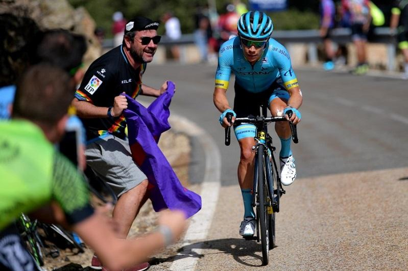 Miguel Angel Lopez finishes 5th at Vuelta a España Stage 18
