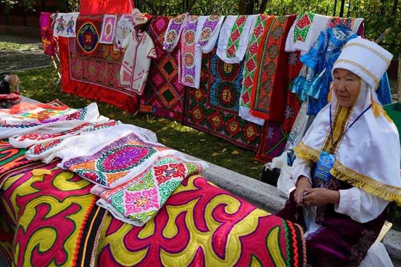 Фестиваль мастеров декоративно-прикладного искусства прошел в Семее