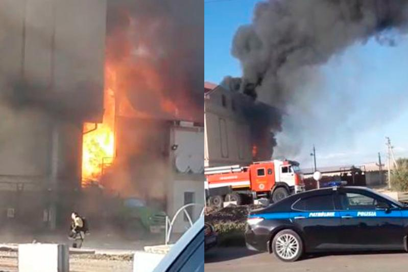 Названа причина взрыва в Туркестане
