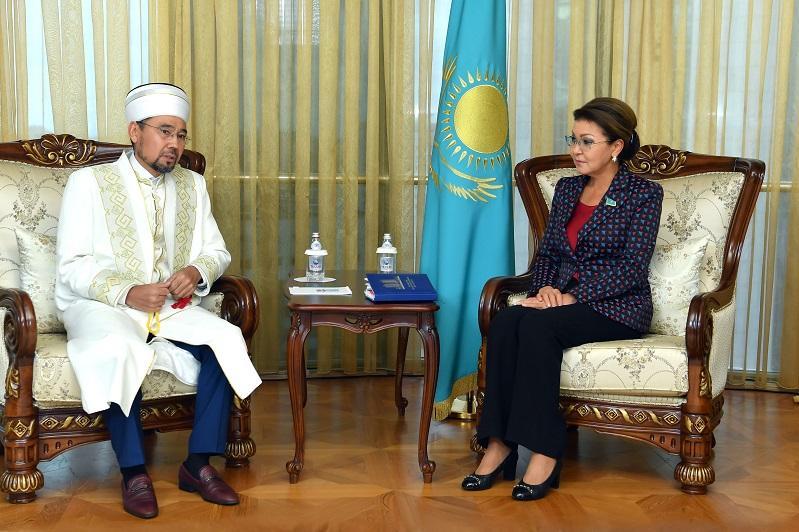 Дарига Назарбаева встретилась с председателем Духовного управления мусульман Казахстана