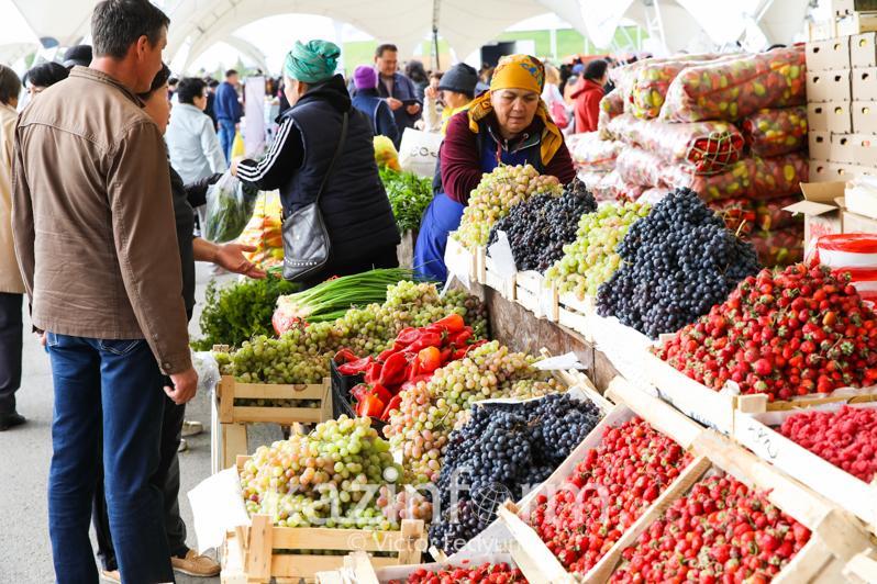 500 тонн продуктов из Павлодарской области выставлено на продажу возле «Хан Шатыра»