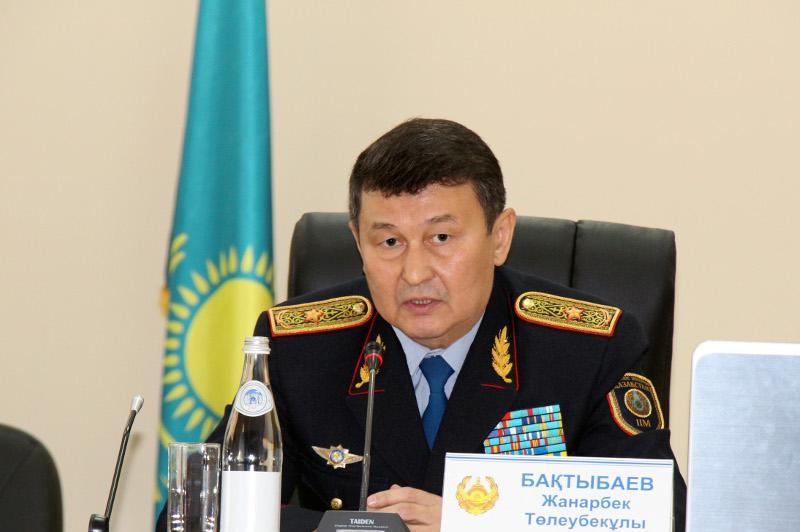 ШҚО-да қылмыс азайып келеді - генерал-майор Жанарбек Бақтыбаев