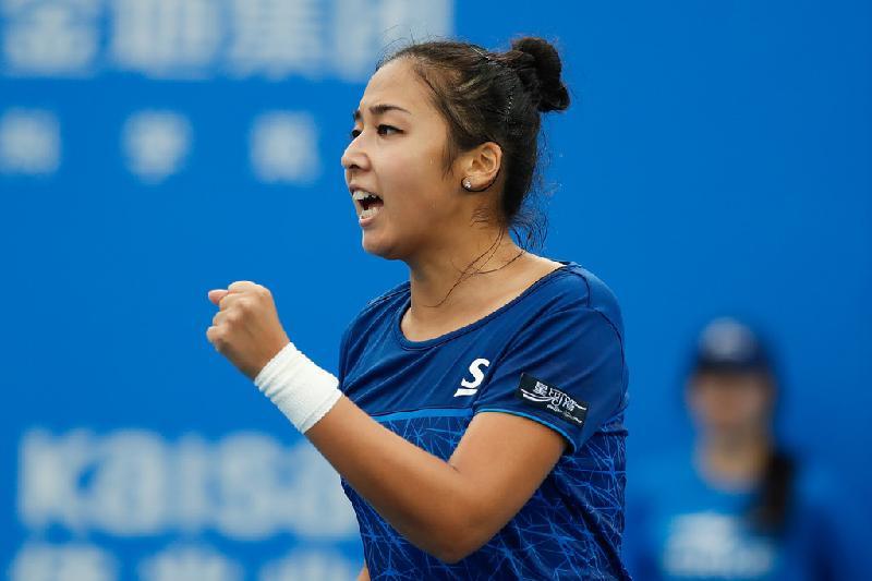 Зарина Дияс Осака турнирінің іріктеу сайысын сәтті бастады