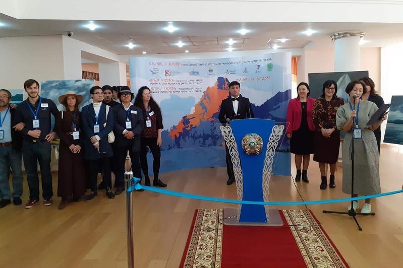 Көкшетауда суретшілердің халықаралық форумы өтті