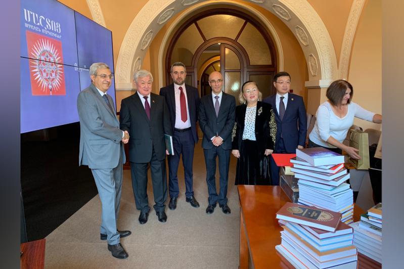哈萨克斯坦政府副总理访问亚美尼亚