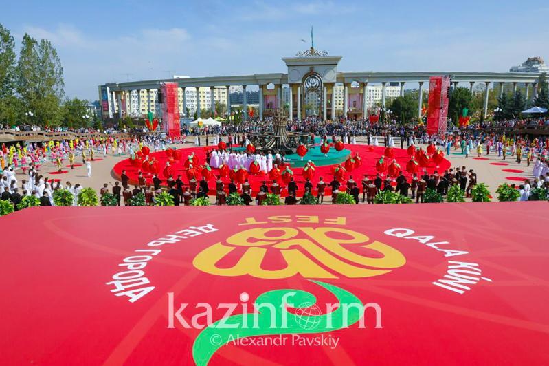 Алматинцы отмечают День города