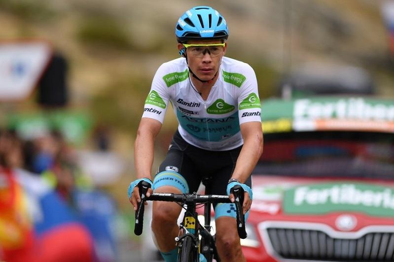 Vuelta a España. Astana's Lopez 11that last mountain stage 20