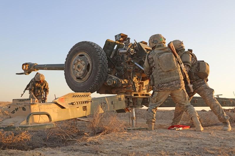 Әскерилер Маңғыстауға артиллерияны шоғырландыру себебін түсіндірді