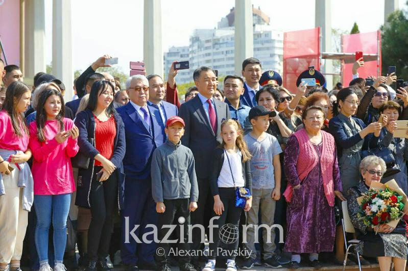 Бакытжан Сагинтаев: Современный Алматы - это стремительно растущий мегаполис