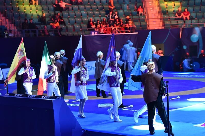Нұр-Сұлтанда күрестен әлем чемпионатының ресми ашылуы өтті