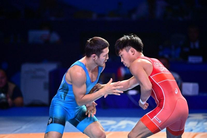 Kazakhstan pockets bronze at World Wrestling Championships