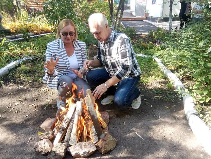 Третий Цветаевский костер зажгли в Кокшетау