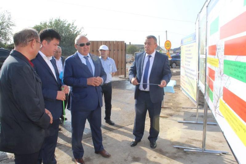 Умирзак Шукеев проверил работу социально значимых объектов Келесского района