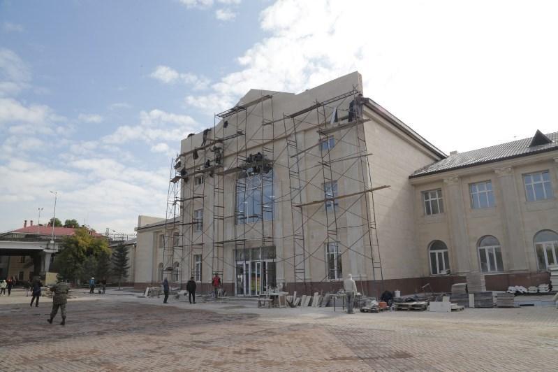 Отремонтированное главное здание вокзала Караганды откроют на этой неделе