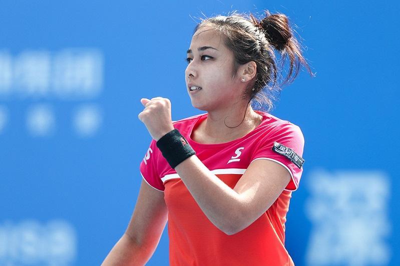 Теннис: Зарина Дияс Осака турнирін жеңіспен бастады