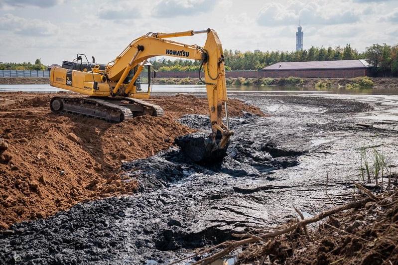 В столице начали строительство очистных сооружений