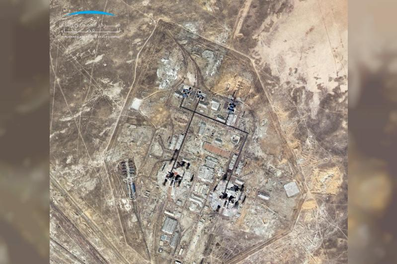KhalifaSat captures high-resolution image of Baikonur Cosmodrome