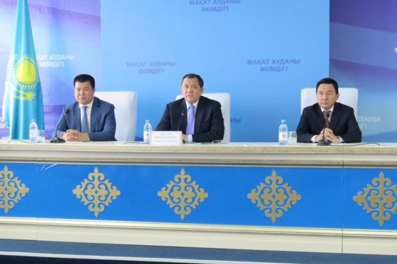 Назначен новый аким Макатского района Атырауской области