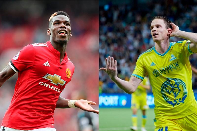 «Астана» объявила состав на матч Лиги Европы с «Манчестер Юнайтед»